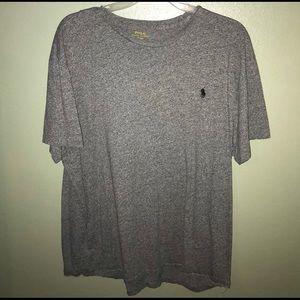 Grey Ralph Lauren Polo T-shirt